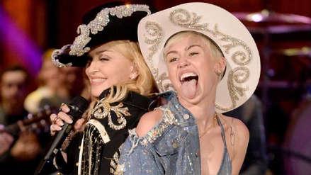 """Madonna apoya a Miley Cyrus: """"Eres una mujer que ha vivido, no necesitas disculparte"""""""