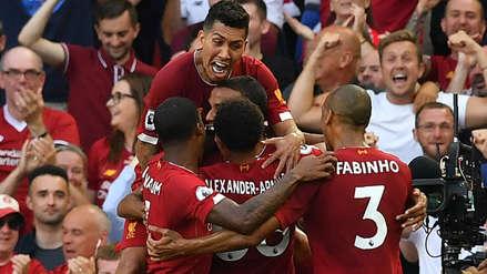 ¡Sigue puntero! Liverpool venció 3-1 al Arsenal y sumó su tercer triunfo seguido en Premier League