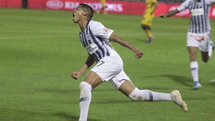 ¡Iluminado! Kevin Quevedo anotó su tercer gol en el partido entre Alianza Lima y Academia Cantolao