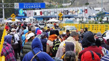 Ecuador prevé que cerca de 10,000 venezolanos tratarán de entrar al país antes de exigencia de visa