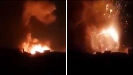 Fuerza Aérea de Israel lanzó ataque contra presuntos objetivos terroristas en Siria