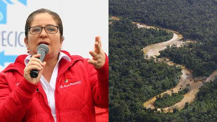 Ministra del Ambiente: No hay incendios forestales en este momento en Madre de Dios y continúa monitoreo
