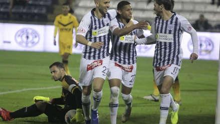 Kevin Quevedo anotó su segundo gol ante Cantolao con un letal zurdazo