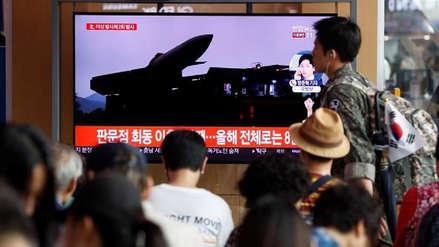 Corea del Norte volvió a lanzar proyectiles hacia el mar de Japón