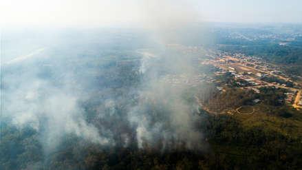 Indeci: Tenemos reportados 136 incendios forestales en menos de un mes
