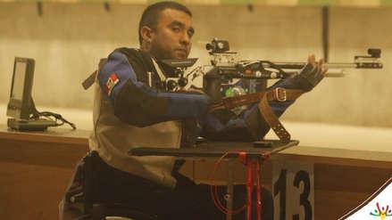 Jorge Arcela ganó medalla de plata en tiro para Perú en los Juegos Parapanamericanos