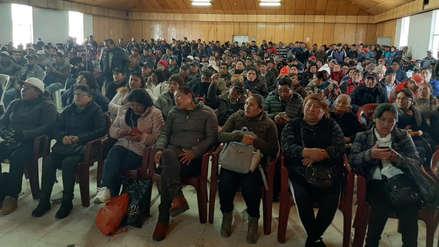 Trabajadores de Doe Run acuerdan dar plazo de 72 horas al Gobierno antes de acatar paro