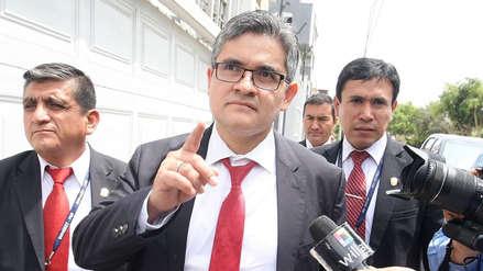 """José Domingo Pérez rechaza ataques a la colaboración eficaz """"que permite que la Fiscalía averigüe la verdad"""""""