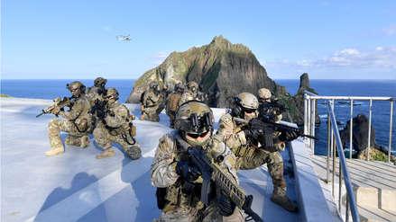 Corea del Sur inicia ensayos militares para defender islas disputadas con Japón