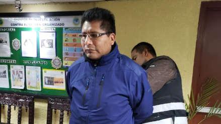 La Policía Nacional detuvo en Lima al gobernador de Puno, Walter Aduviri