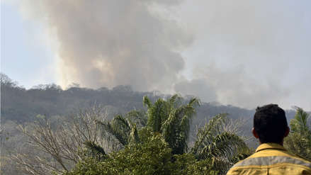 Evo Morales acepta la ayuda internacional para sofocar incendios forestales en Bolivia