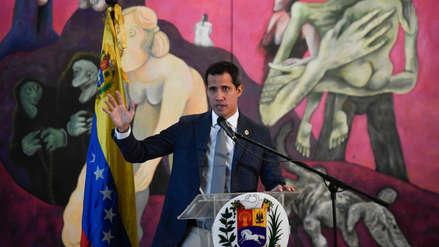 Juan Guaidó pidió a los presidentes del G7 incluir crisis en Venezuela en la agenda