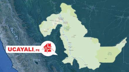 Un sismo de magnitud 5 se sintió esta noche Ucayali