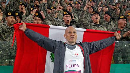 ¡Una más! Carlos Felipa consiguió medalla de plata en lanzamiento de bala para Perú en los Juegos Parapanamericanos Lima 2019