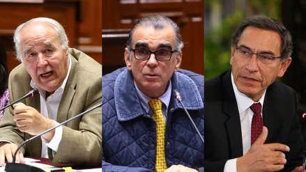 García Belaunde: Olaechea no puede tomar decisiones inmediatas en diálogo con Vizcarra