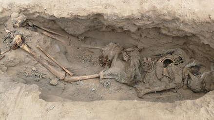 Descubrimiento arqueológico | Hallan restos de más de 250 niños y 40 guerreros sacrificados frente al mar de Huanchaco