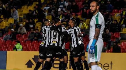 Atlético Mineiro ganó 3-1 a La Equidad y clasificó a la semifinal de la Copa Sudamericana 2019