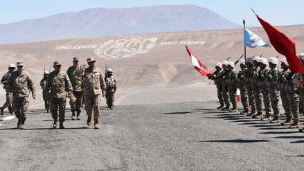Comandante general del Ejército realizó una visita de trabajo en Tacna