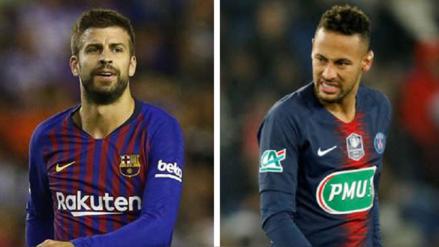 Gerard Piqué sobre el fichaje de Neymar: