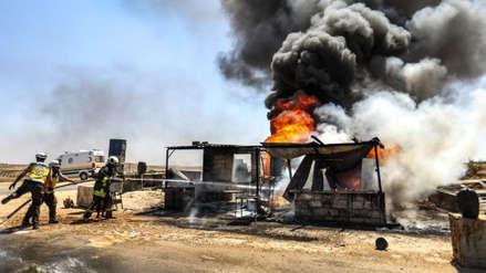 Más de mil civiles han muerto desde el inicio de la ofensiva gubernamental en Siria