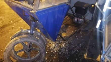Extorsionadores destruyeron siete mototaxis de una mujer que se negó a pagar cupos en Gamarra