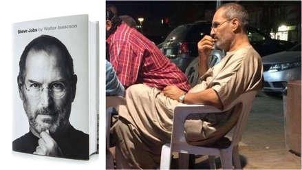 Esta foto ha generado una insólita teoría conspirativa: Steve Jobs fingió su muerte y está en Egipto