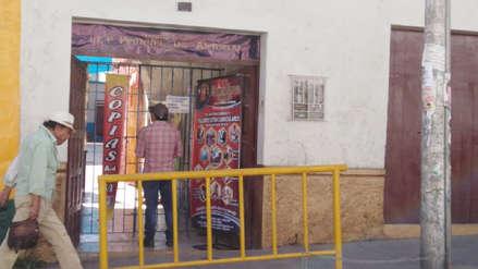 Escolar hiere con una tijera a su compañero en colegio de Arequipa