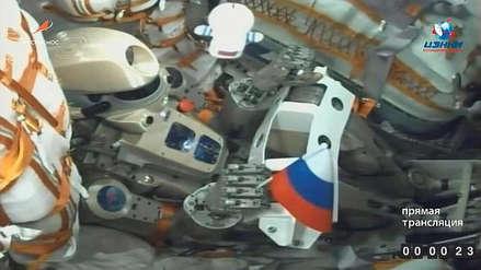 El androide 'Fiódor' llegó a la Estación Espacial Internacional [VIDEO]