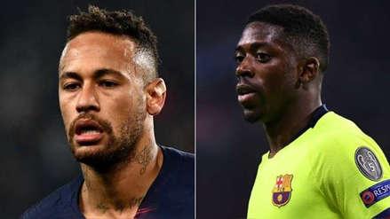 ¡Atención Neymar! Agente de Ousmane Dembélé trastoca los planes de Barcelona
