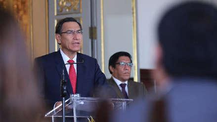 Presidente Martín Vizcarra dice que está abierto a cualquier investigación por caso Chinchero
