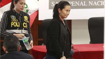 Jueza dirimente se pronunciará sobre casación de Keiko Fujimori el 12 de septiembre