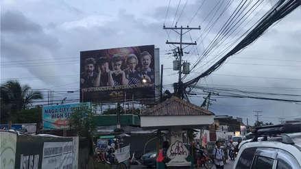 ¿El mayor hincha de Dota 2? Fan de OG celebró el bicampeonato con gigantesco cartel en su ciudad