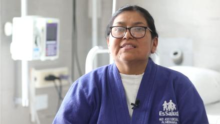 Carmen Pacori: la historia del trasplante que cambió una vida