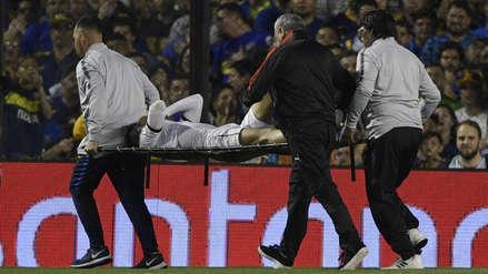 ¡De terror! Christian Cruz sufrió fuerte lesión en el partido entre LDU de Quito y Boca Juniors