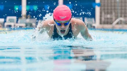 ¡Nadie la detiene! Alexia Sotomayor batió récord nacional absoluto de 100 metros espalda