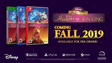 Clásicos videojuegos Aladdín y El Rey León serán remasterizados para actuales consolas [VIDEO]