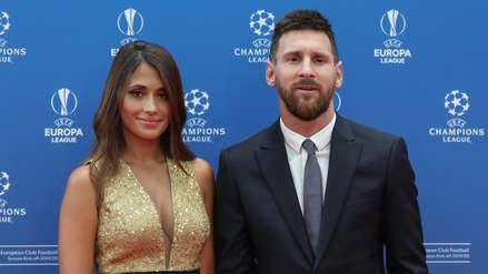 Así fue la llegada de Lionel Messi al sorteo de la Champions League
