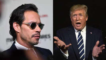 """Marc Anthony tilda de """"incapaz"""" a Donald Trump por sus declaraciones sobre Puerto Rico"""