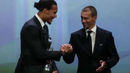 Con Virgil van Dijk, los mejores futbolistas posición por posición de la Champions League 2019