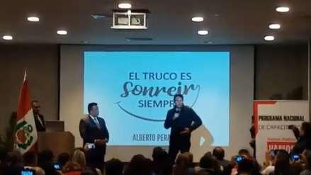 Daniel Salaverry participó en un evento de 'Vamos Perú' por invitación de Juan Sotomayor, exalcalde del Callao