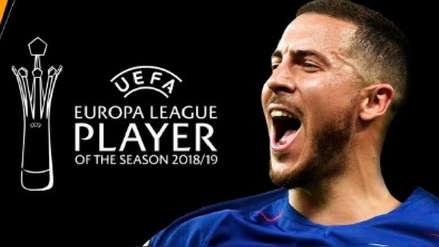 Eden Hazard elegido el mejor jugador de la Europa League 2018-2019