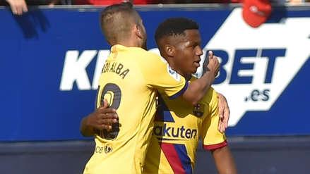 Barcelona: Ansu Fati anotó ante Osasuna y es dueño del récord que ni Lionel Messi le podrá sacar
