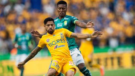 Con Pedro Aquino, León igualó 1-1 con Tigres por la fecha 8 del Torneo Apertura de la Liga MX