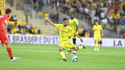 Con Cristian Benavente, Nantes venció 1-0 a Montpellier por la cuarta jornada de la Ligue 1