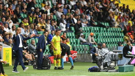 ¡Esperado estreno! Cristian Benavente debutó en el Nantes en Ligue 1 de Francia
