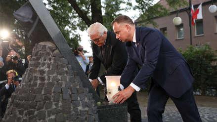 Presidente alemán pide perdón a Polonia 80 años después del inicio de la Segunda Guerra Mundial