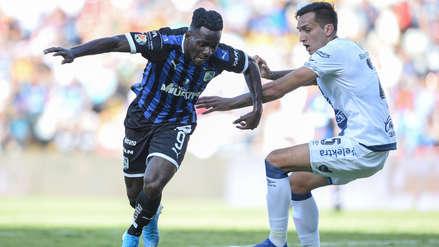 Puebla volvió a robarse un buen resultado en los descuentos e igualó 1-1 con el líder Querétaro