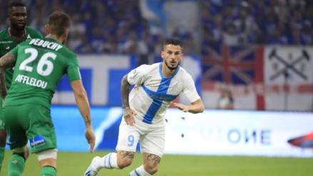 Con Trauco de titular, Olympique de Marsella venció 1-0 al Saint Etienne por la Ligue 1