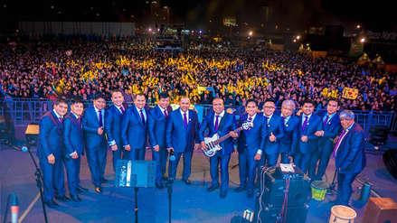 ¡Agua Marina rompió el récord! La orquesta tocó seis horas ininterrumpidas en show por su 43 aniversario
