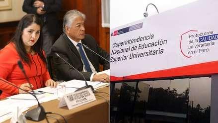 Comisión de Educación aprobó investigar a la Sunedu por licenciamiento de universidades
